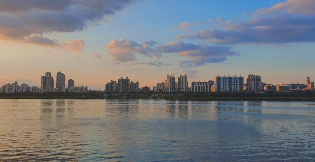 Rio Han, Coreia do Sul